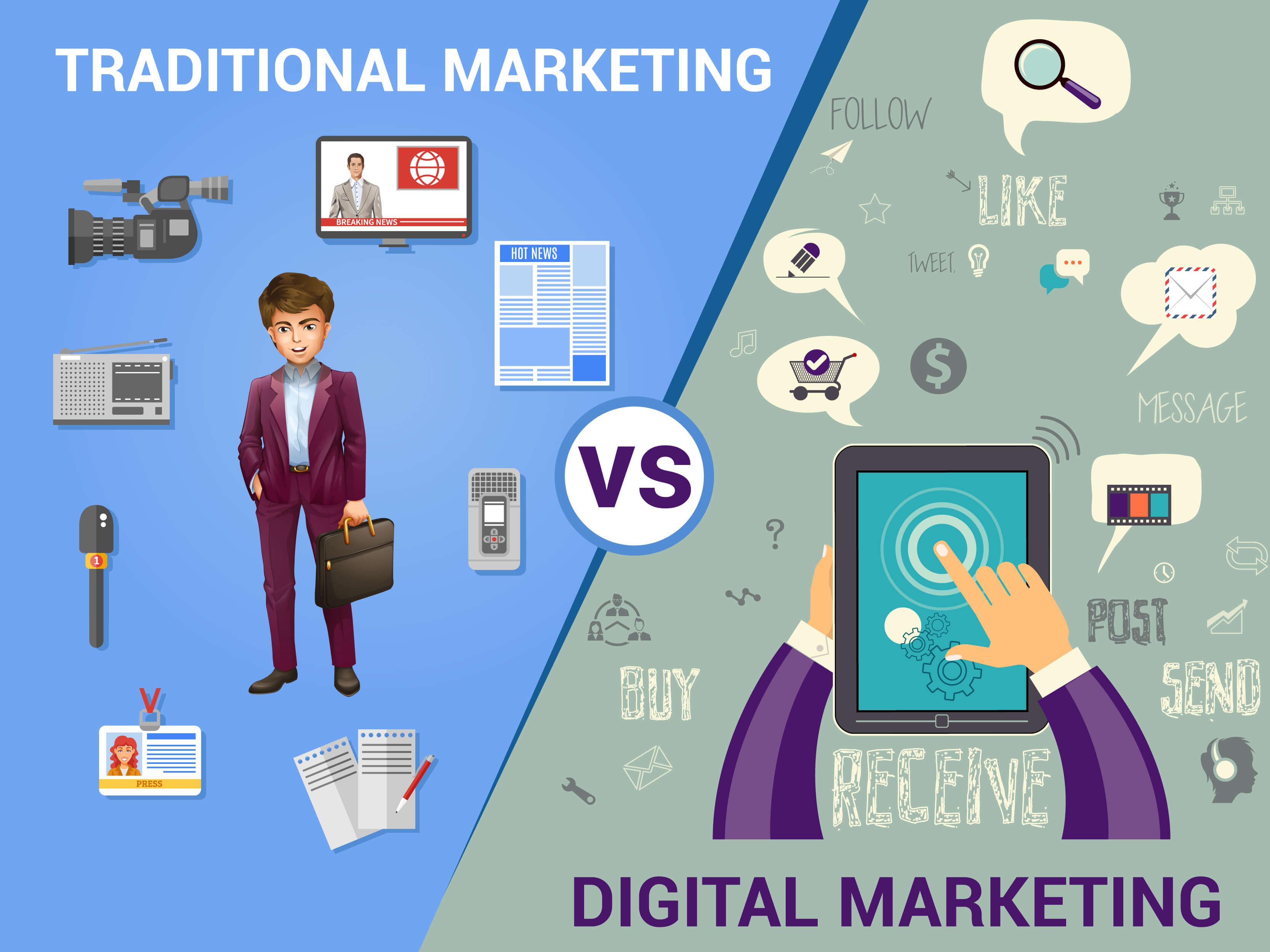 Law Firm Marketing Strategies: Traditional vs Digital