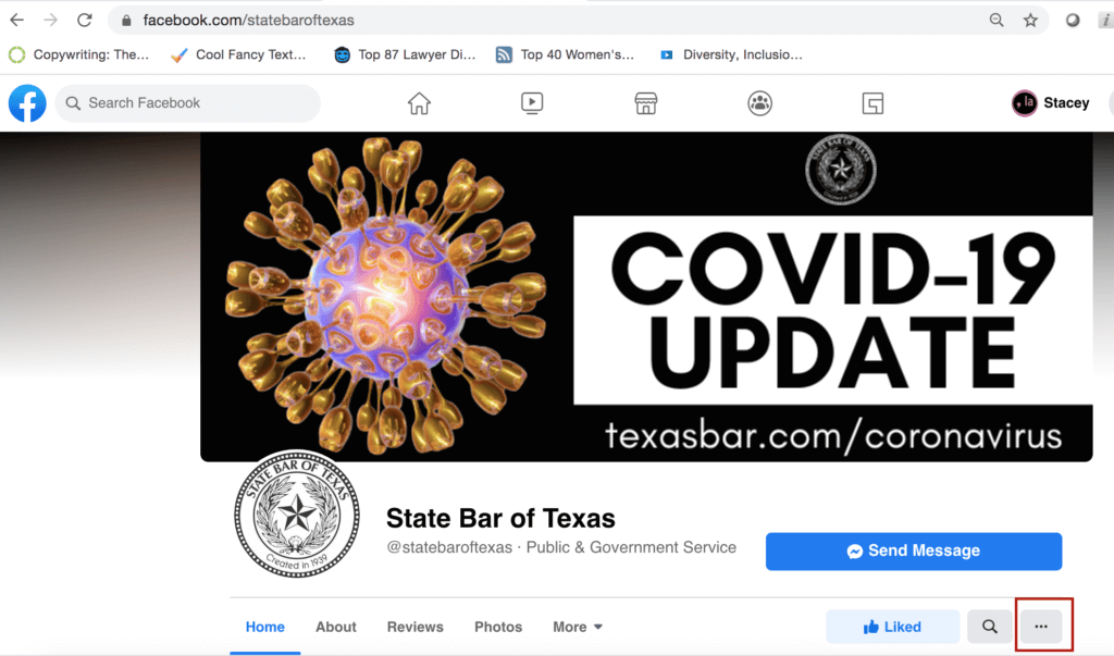 State Bar of Texas Facebook Page
